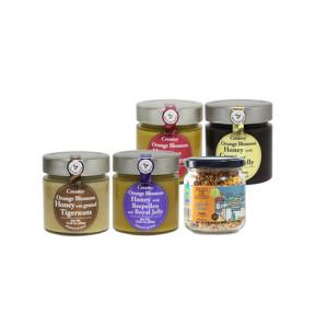 비폴렌& 오렌지 블라썸 꿀 4종