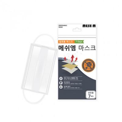 메쉬엠 일회용 사각마스크
