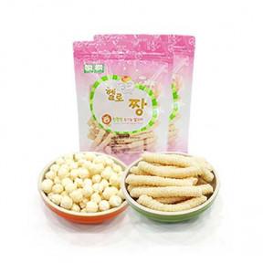 짱죽 유기농 쌀과자(대용량)