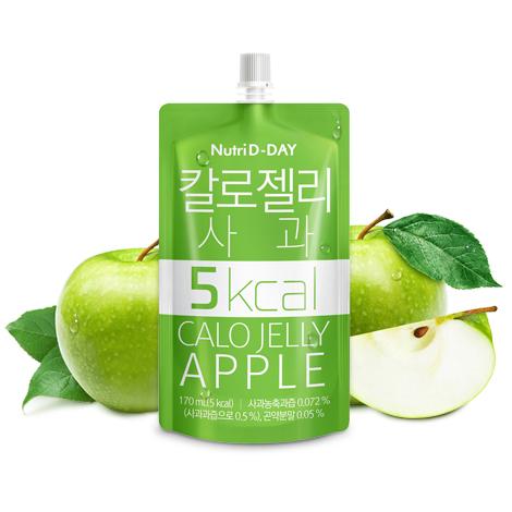 칼로젤리 사과