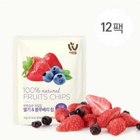 하루습관과일칩 딸기&블루베리(12팩)