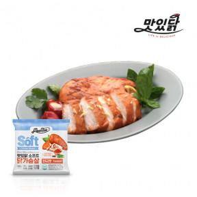 맛있닭 닭가슴살 소프트 탄두리맛 1kg(100gX10팩)