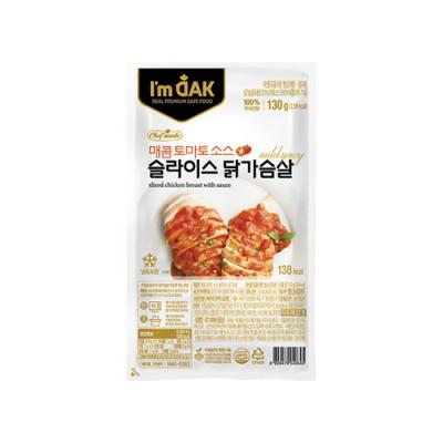 매콤토마토소스 닭가슴살슬라이스(12팩)