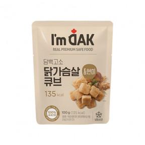 담백고소 통현미 닭가슴살 큐브(12팩)