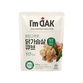 매콤 청양고추맛 닭가슴살 큐브(12팩)