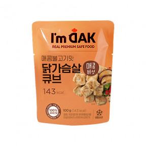 매콤 불고기맛 닭가슴살 큐브(12팩)