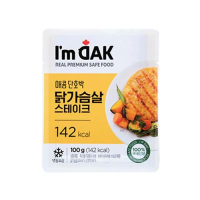매콤단호박 닭가슴살 스테이크 12팩