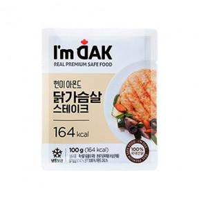 통현미견과 닭가슴살 스테이크(12팩)