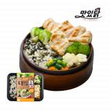 맛있닭 더담은 닭가슴살 도시락 스팀 고추+곤드레나물밥(5팩)