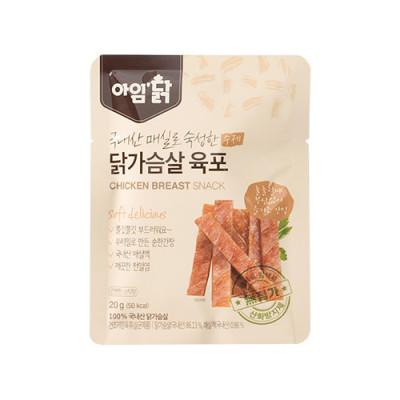 매실숙성 닭가슴살 육포 오리지널 20g(12팩)