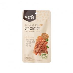 매실숙성 닭가슴살 육포 오리지널 40g(12팩)