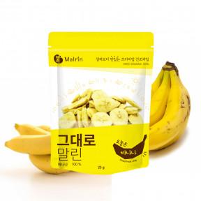 그대로말린 건조과일칩 오늘은 바나나 25g