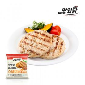 맛있닭 닭가슴살 스테이크 호박맛 1kg (100gX10팩)