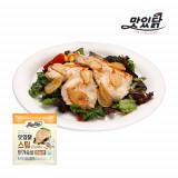 맛있닭 닭가슴살 스팀 마늘맛 1kg (100gX10팩)