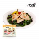 맛있닭 닭가슴살 스팀 혼합구성 1kg (마늘 5팩+고추 5팩)