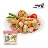맛있닭 닭가슴살 큐브 마늘맛 1kg (100gX10팩)