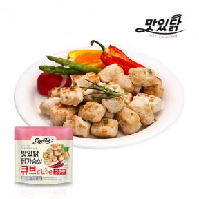 맛있닭 닭가슴살 큐브 고추맛 1kg (100gX10팩)