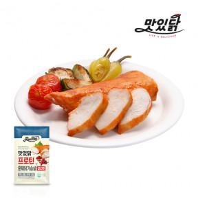 맛있닭 닭가슴살 프로틴 훈제 칠리맛 1kg (100gX10팩)