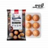 맛있닭 닭가슴살 한끼만두 김치맛 2kg (200gX10팩)