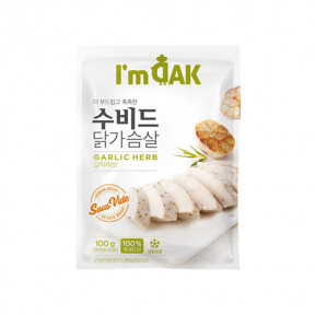 수비드 닭가슴살 갈릭허브(12팩)