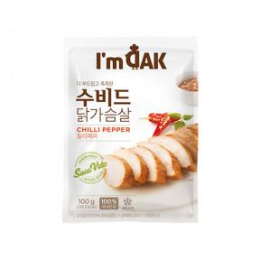 수비드 닭가슴살 칠리페퍼(12팩)